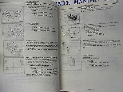 1989 Nissan Pulsar NX Service Repair Shop Manual SET Factory Book FEO 89