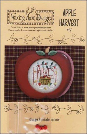 Apple Harvest cross stitch chart Waxing Moon Designs
