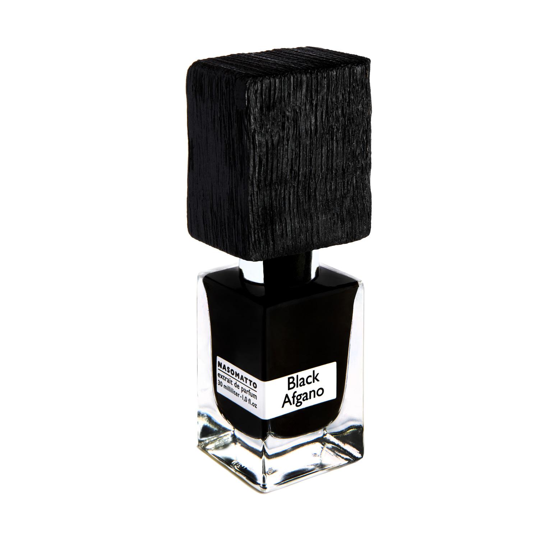 BLACK AFGANO by NASOMATTO 5ml Travel Spray Cannabis Oud Tobacco Coffee Parfum