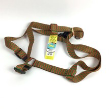 Red Green Chevron Yellow Dog Design Roman Dog Harness Sz Extra Large XL ... - $19.25