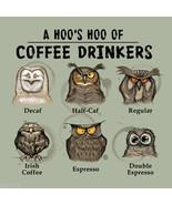 Owl  T shirt Gildan Coffee Addict Espresso Deca... - $19.00 - $20.20