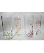 Friends Friendship Drinking Decor Glasses Great Gift Idea Flower Vase Lo... - $16.95