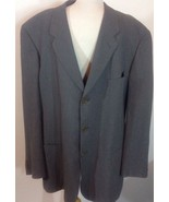 Giorgio Armani Gray Viscose Lined 3 Button Blazer- Men's Size: 44R $795N... - $98.99
