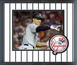 Aaron Judge 2018 MLB All-Star Game - 11x14 Team Logo Matted/Framed Photo - $42.95