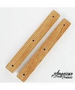 "Extender Bars Solid Oak 8"" pair (set of two) 1.... - $10.80"