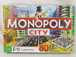 MONOPOLY CITY with 80 3-D BUILDINGS HASBRO CANADA 2009 EXCELLENT CONDITION - $25.74