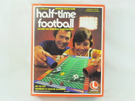 Half-Time Football 1979 Board Game Lakeside 100% Complete Excellent Bili... - $14.30