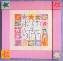 You're A Star cross stitch chart Waxing Moon Designs - $8.00