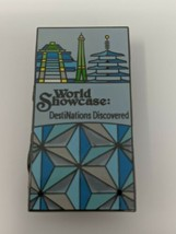 Epcot World Showcase DestiNations Discovered WDW Disney Pin - $7.91