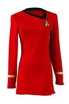 Women's Captain Officer Duty Dress Halloween Cosplay Costume Red (X-Larg... - £50.48 GBP