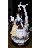 Snow White and 7 Dwarfs at Well Disneyana Convention Armini Disney Figurine - $749.00