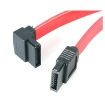 Star Tech Cable SATA12LA1 12inch Sata To Left Angle Sata Serial Ata Cable Retail - $20.03