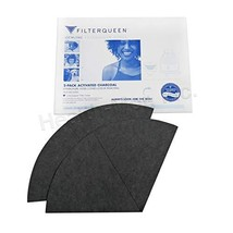 Filter Queen Enviropure Activated Charcoal Filter Cones, 2 Pack