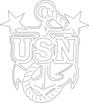 Military Logo 4 Metal Wall Art Decor - $49.49