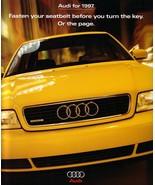 1997 AUDI full line DELUXE brochure catalog A4 A6 A8 quattro - $10.00