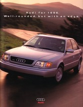 1996 AUDI full line DELUXE US brochure catalog A4 A6 quattro - $10.00