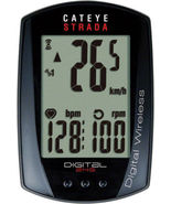 CATEYE STRADA CC-RD410DW DIGITAL DOUBLE WIRELESS CADANCE BLACK BICYCLE C... - $99.95