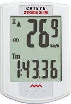 CATEYE STRADA SLIM--CC-RD310W WIRELESS WHITE BICYCLE SPEEDOMETER COMPUTER - €62,09 EUR