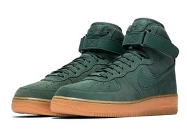 Nike Men's Air Force 1 High '07 LV8 Suede Shoes (Green) NIB AA1118-300 $110 - $54.99