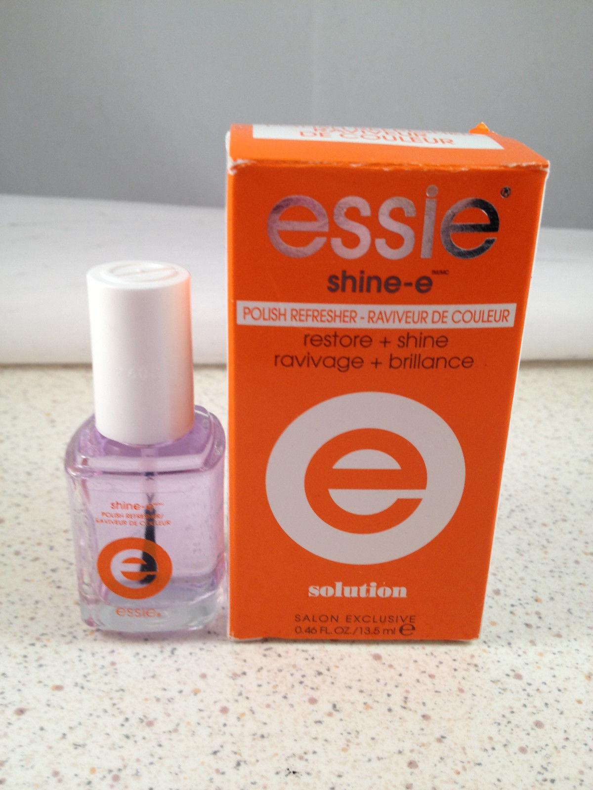 Essie Shine-e Polish Refresher Nail Lacquer Color clear top coat treatment