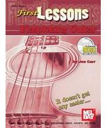 First Lessons Flatpicking Guitar/Book w/CD Set/... - $8.99
