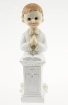 "2 Standing Communion Boy Cake top favor decoration 6"" - $7.91"