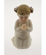 "Kneeling Communion Girl statue cake topper 4.5""  - $4.99"