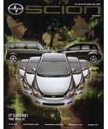 2005 Scion xA xB tC brochure catalog magazine ISSUE 04 bB - $8.00