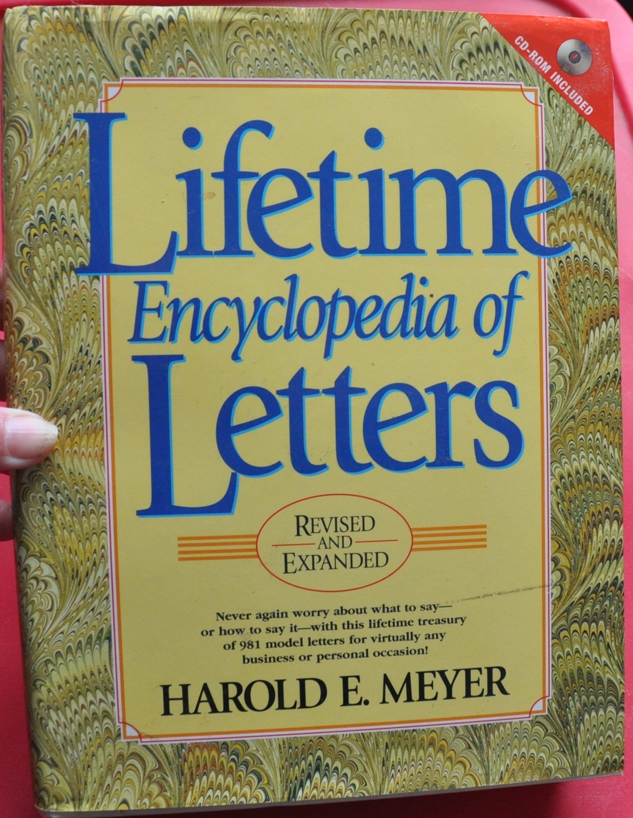Primary image for Lifetime Encyclopedia of Letters - How to Write a Good letter by Harold Meyer