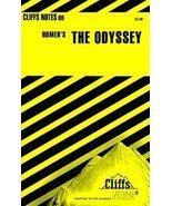 Odyssey Cliffs Notes (1976, Paperback, Reissue) - $1.00