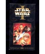 STAR WARS-THE PHANTOM MENACE  VHS - $1.88