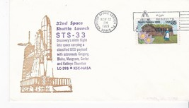 STS-33 SPACE SHUTTLE LAUNCH KENNEDY SPACE CENTER FLORIDA NOV 22 1989 - $1.78