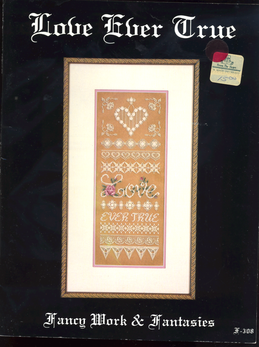 Love Ever True (embroidery pattern book) - $1.00