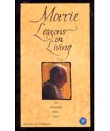 Morrie Lessons On Living  Vhs  - $1.00