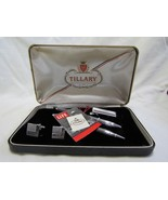 VTG Tillary Original Gift Set Tie Bar Clip Cuff Links Pen & Pencil Set NOS - $18.82