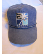 Blue Hawaii Palm Tree Ball cap Baseball hat Sportcap Very Nice Condition - $9.84
