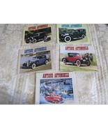 Antique Automobile Magazine 5 Issues 1996  VOL. 60 AACA Car Club - $14.86