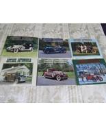 Antique Automobile Magazine 6 Issues 2001  VOL. 65  AACA Car Club - $17.83