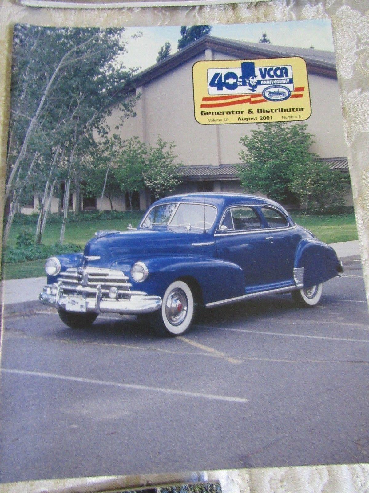 Lot Generator & Distributor Magazine - 2001  40th Anniversary Issues of VCCA,