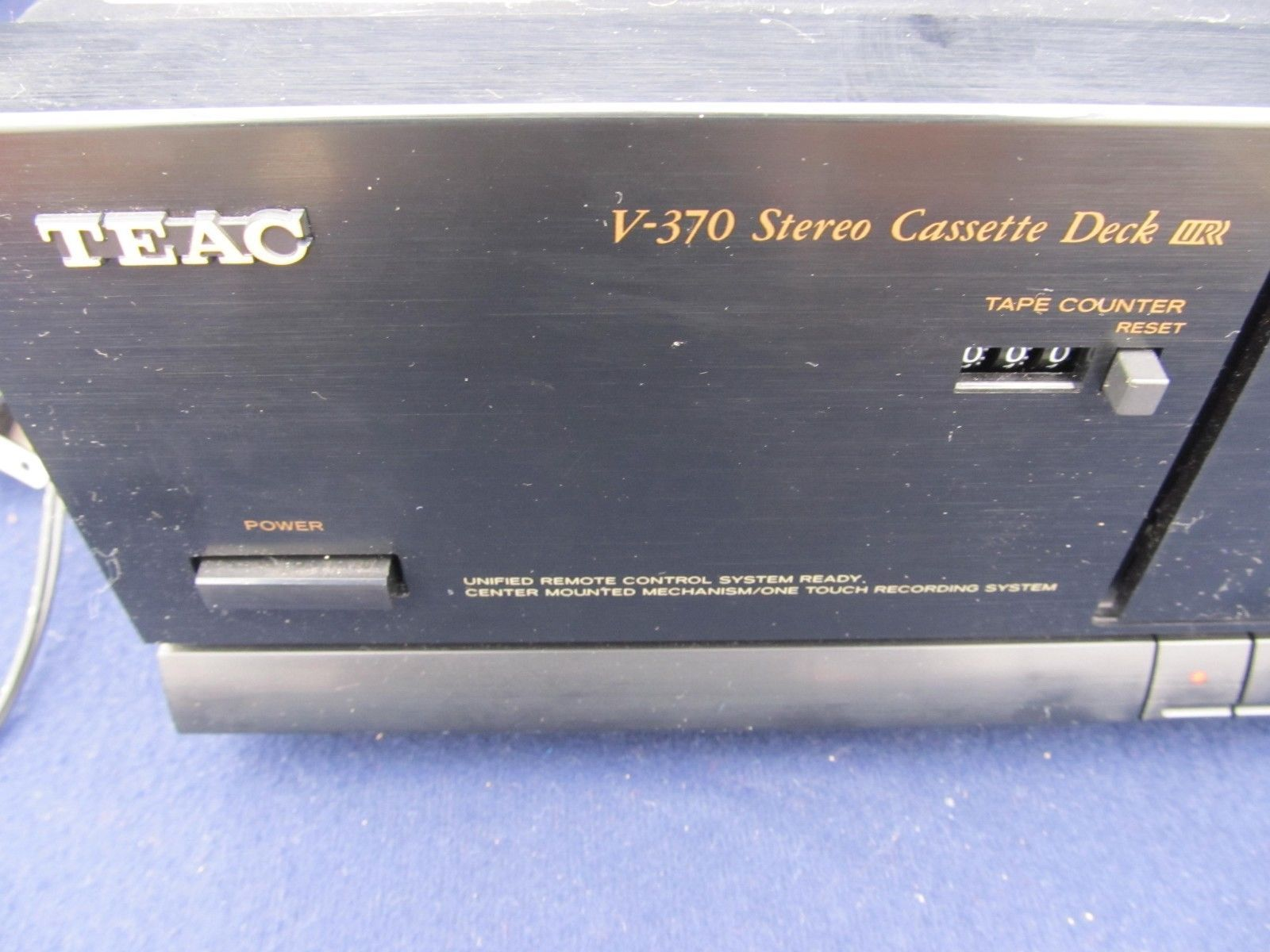 TEAC   V-370 Stereo Cassette Tape Deck for Repairs or Parts