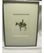 John Digby (b.1938) VTG Collage signed and professionally framed. **LOOK** - $148.46