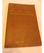 Rare-Vtg 1953 Dog Owners Guide by Kasco Mills-138 Pages Of Dog Lore Wave... - $18.92