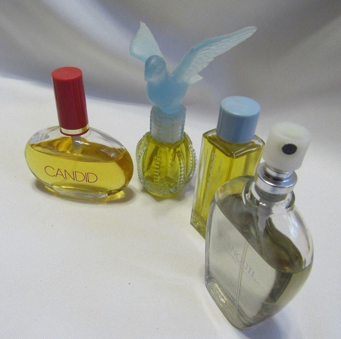 Vintage Delagar Avon DeCortot Fragrance Perfume Lot from an Estate 4 Bottles