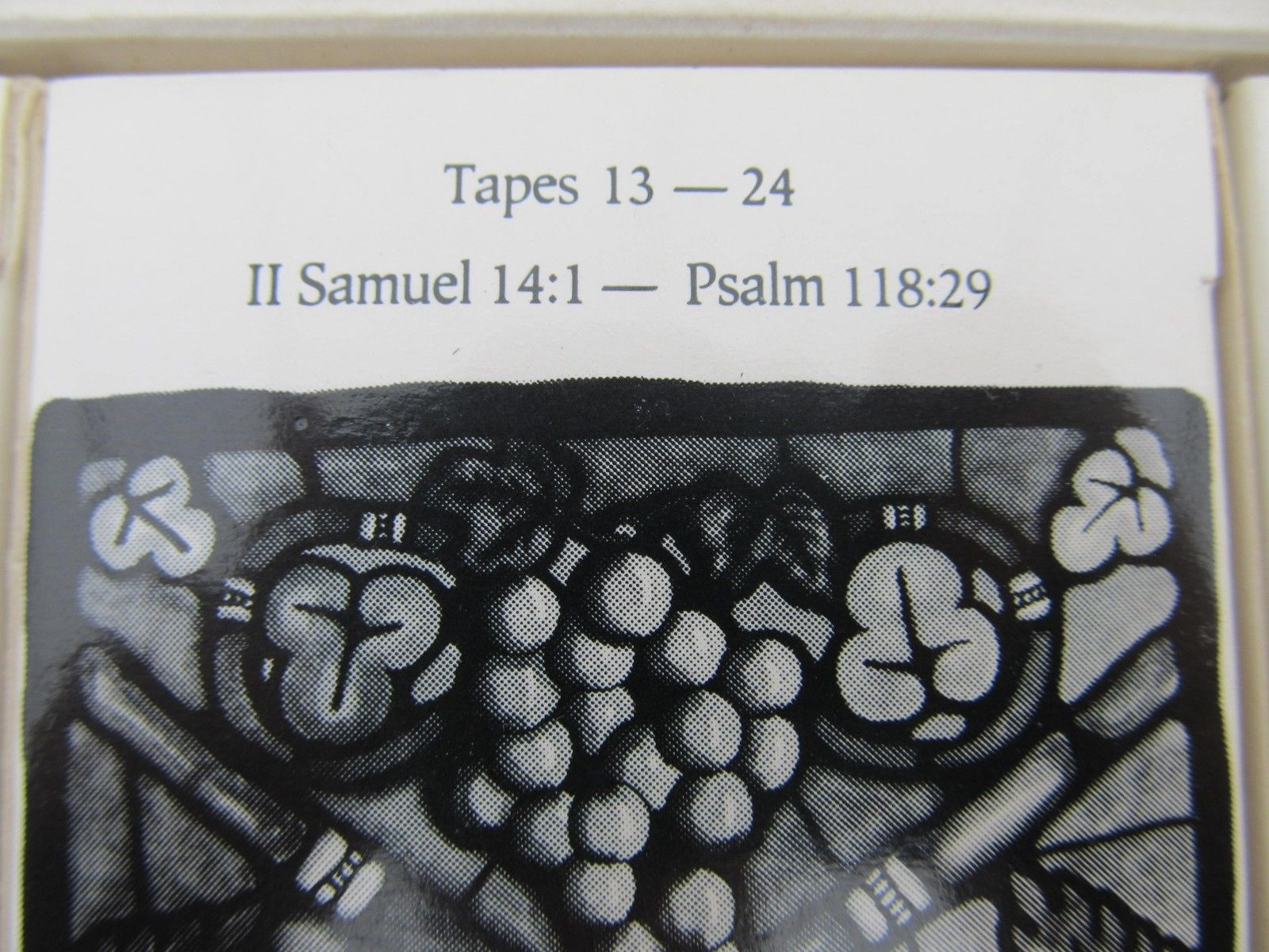 Holy Bible New International Version NIV 48 Cassettes With Musical Background