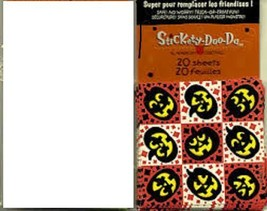 American Greetings Jack o Lantern Squares - 171 Stickers - Free Shipping! - $4.99
