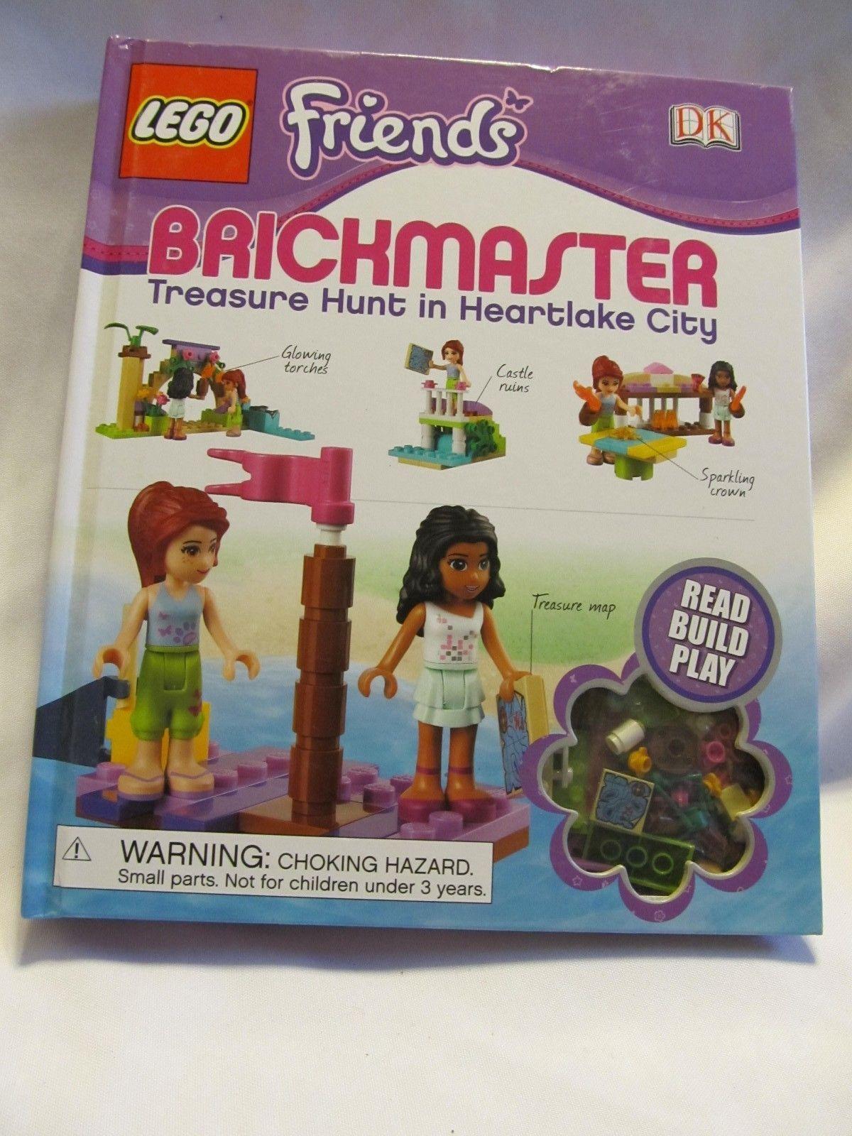 LEGO Brickmaster Friends Treasure Hunt in Heartlake City by Dorling...