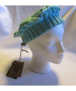 Livity Outernational Teal Knit Beret  Eco Friendly Hemp & Wool    New wi... - $19.79