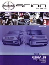 2003/2004 Scion xA xB sales brochure catalog DEBUT bB ist - $6.00
