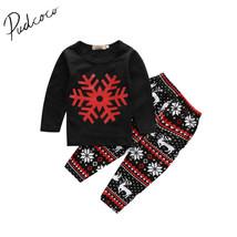 christmas 2pcs toddler kids baby girls outfits long t shirt tank top pants.jpg 640x640 thumb200