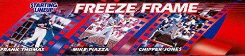 Chipper Jones Freeze Frame 1997 Starting Lineup MLB Atanta Braves by Starting L